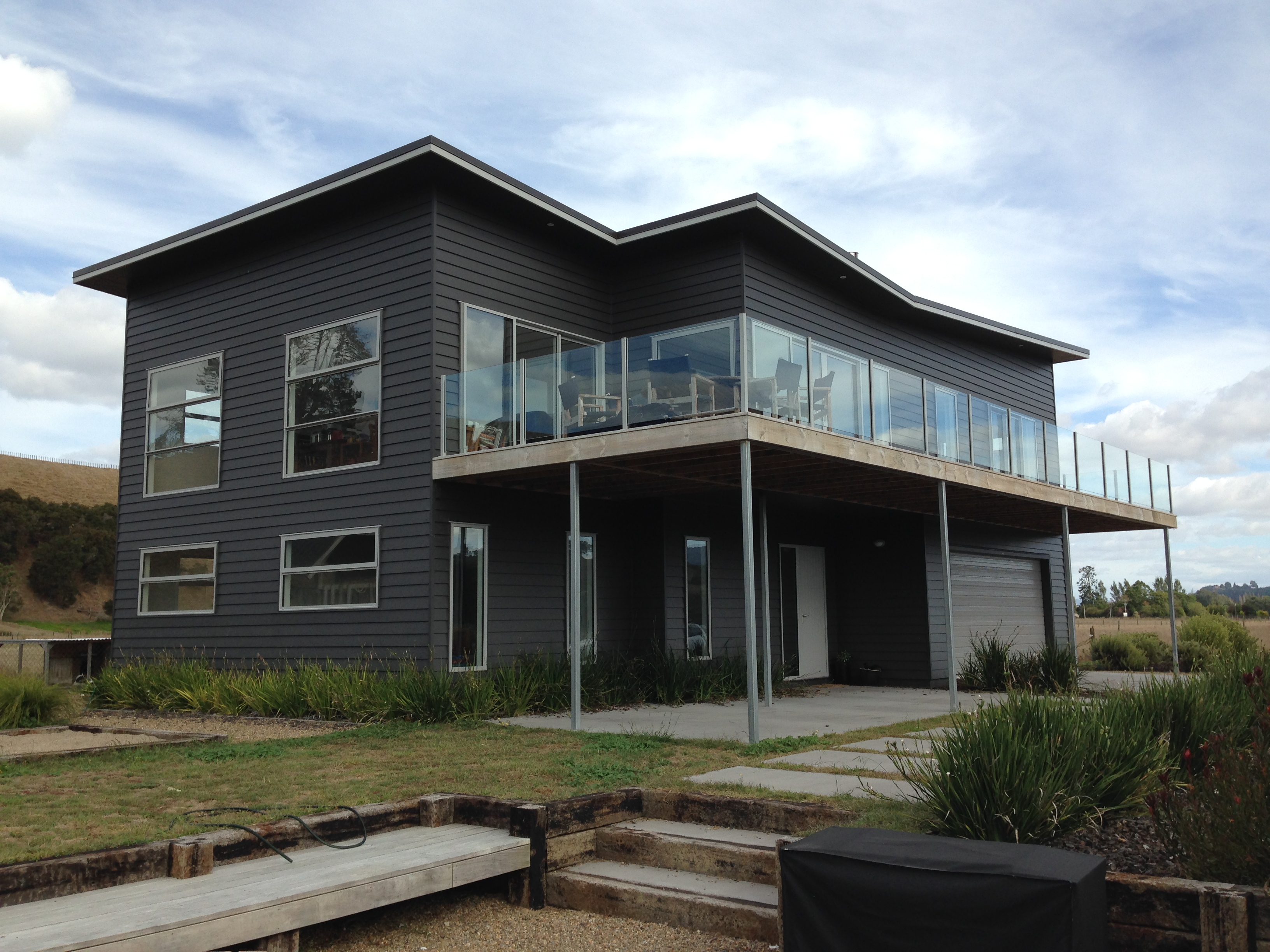 Resene cool colours paint lake side karapiro authentic finishings ltd - Exterior paint colours nz image ...